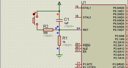 按键复位电路图_51单片机之晶振与复位常用典型电路 - 网络精灵